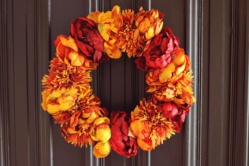 Autumn Floral Wreath Project A Beautiful Mess