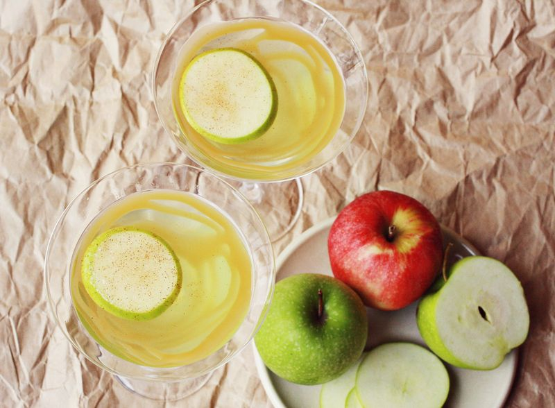 How to make an apple martini