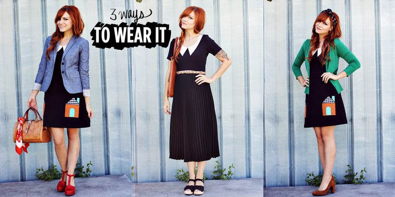 3 Ways To Wear It (A Beautiful Mess for ModCloth Collection)