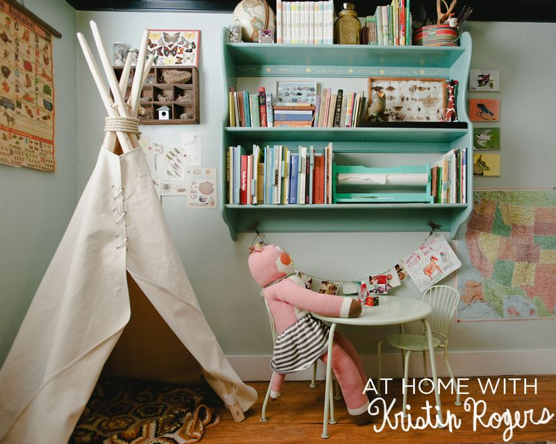 At Home With Kristin Rogers