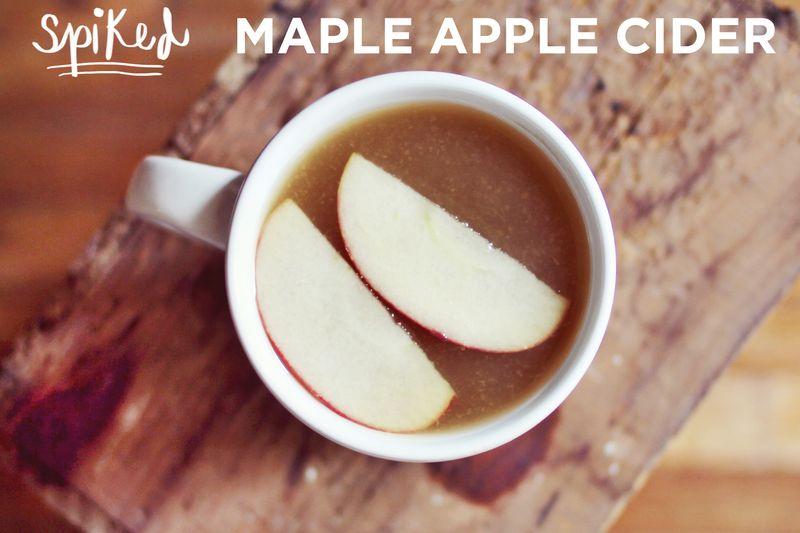 Maple Apple Cider Recipe