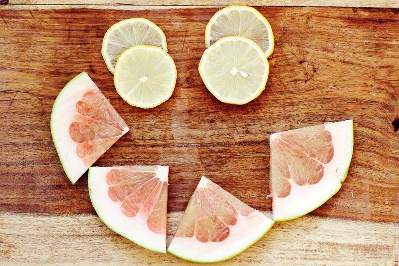 Lemons + Grapefruit