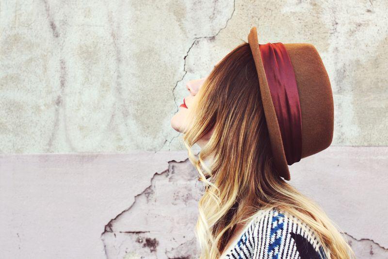 Emma Chapman wearing A Beautiful Mess