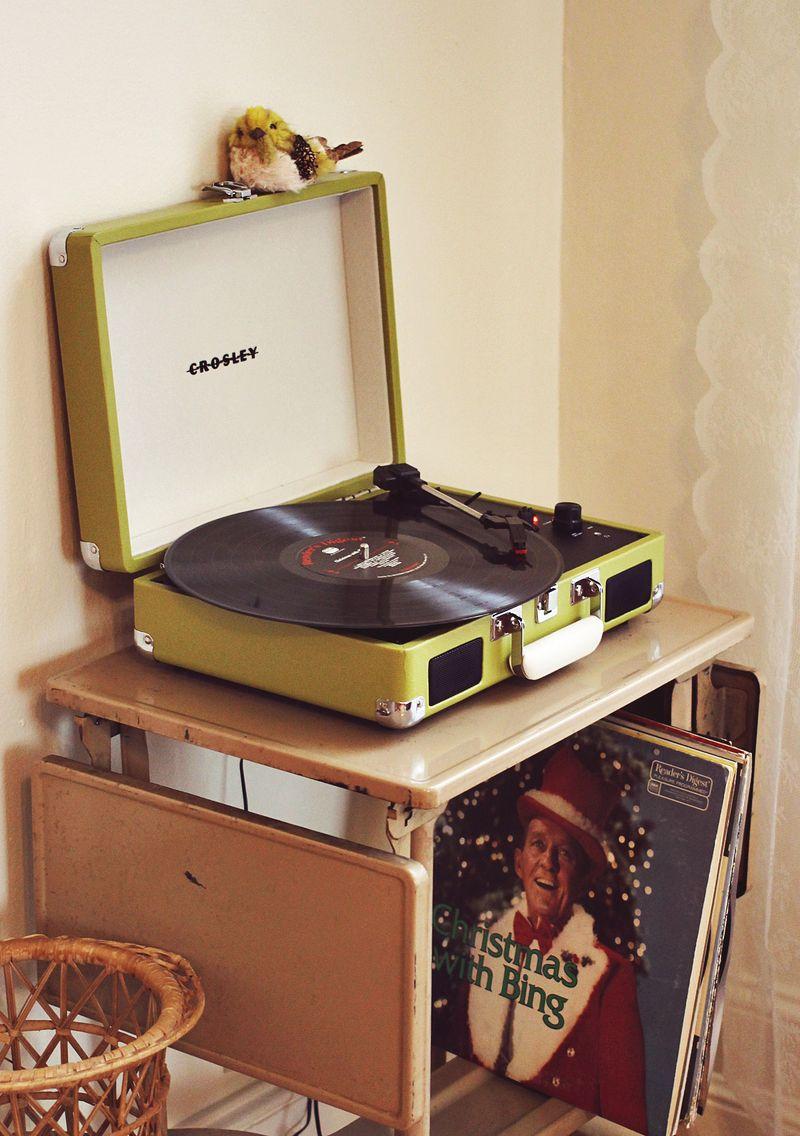 Holiday Record Corner