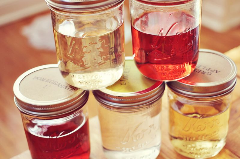 Our favorite infused vodkas (via A Beautiful Mess)