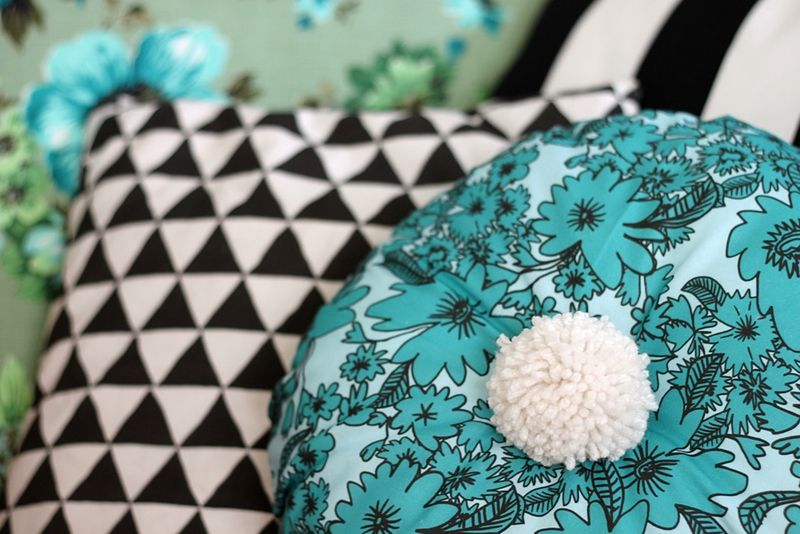 Pom-Pom Pillow