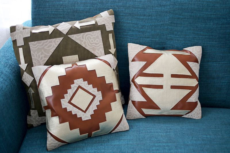 Leather Pillow Project