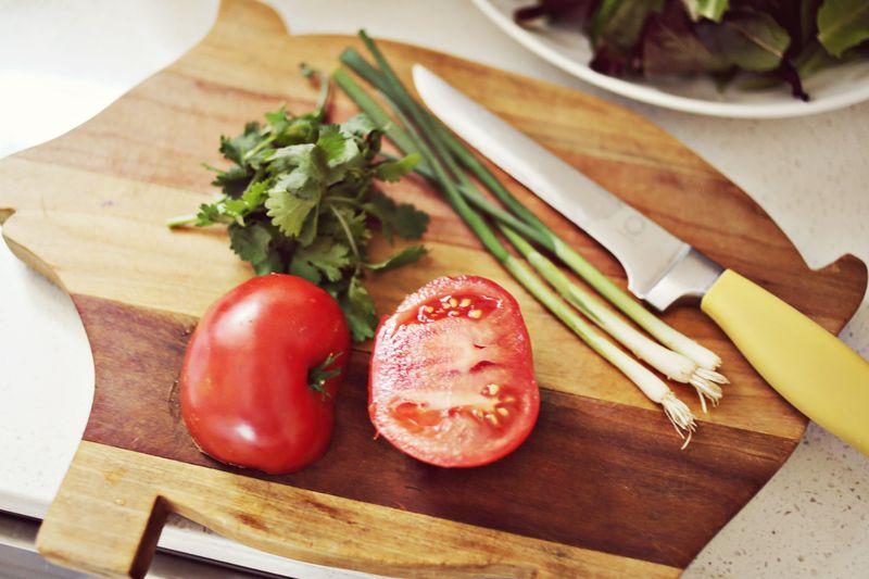 Cilantro + Tomato + Green Onion