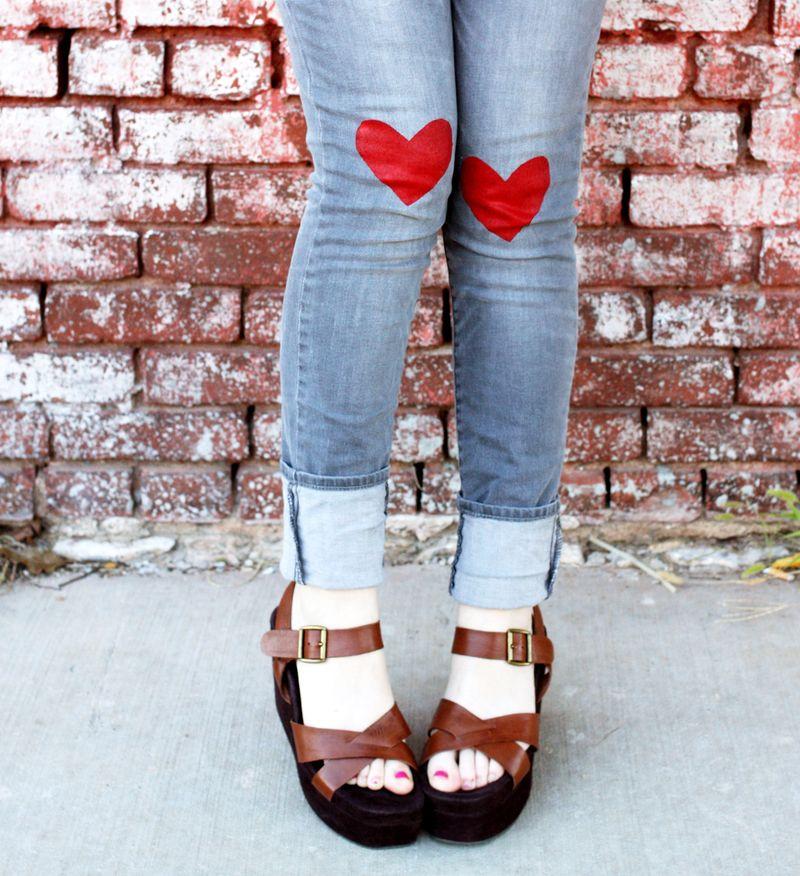 Heart Jeans