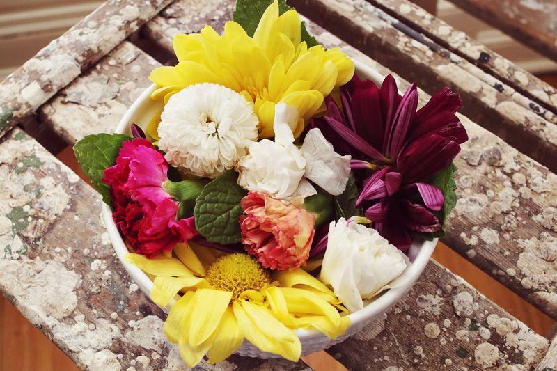 Edible flowers!