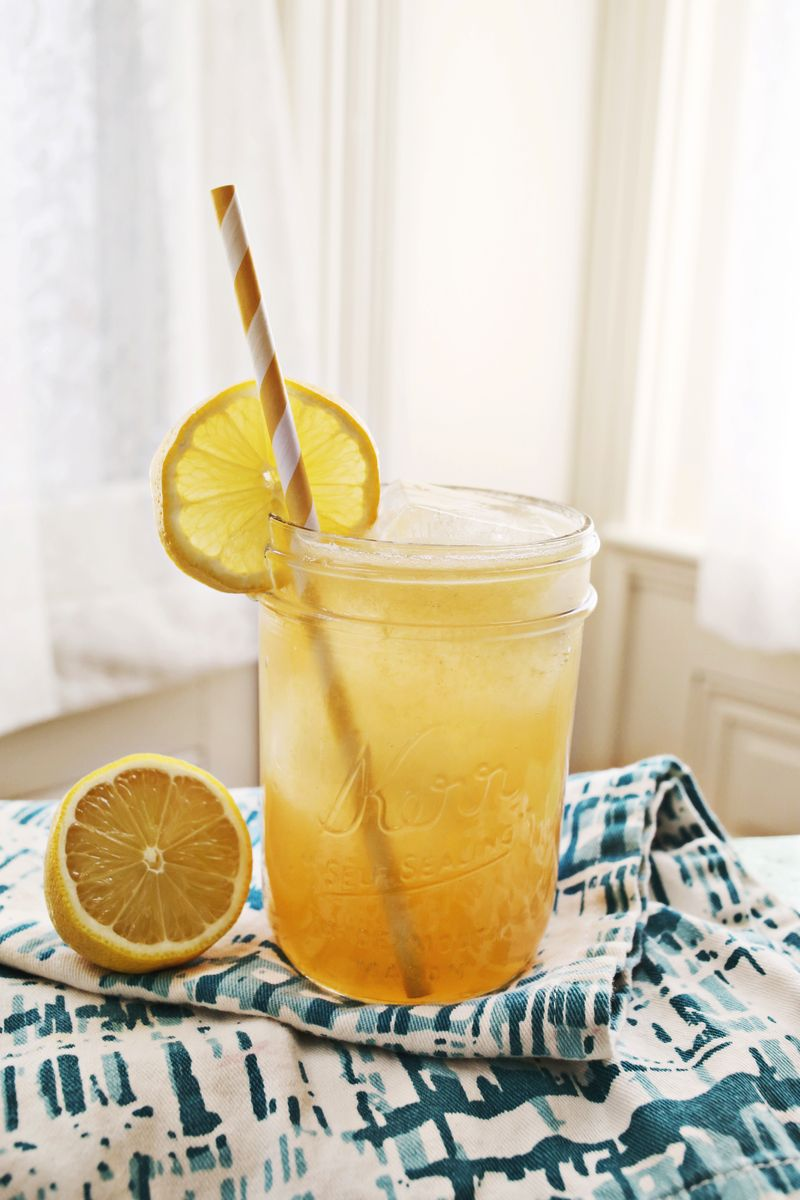 Whiskey Lemonade Recipe : A Beautiful Mess