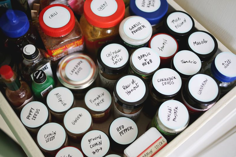 Labeled spices