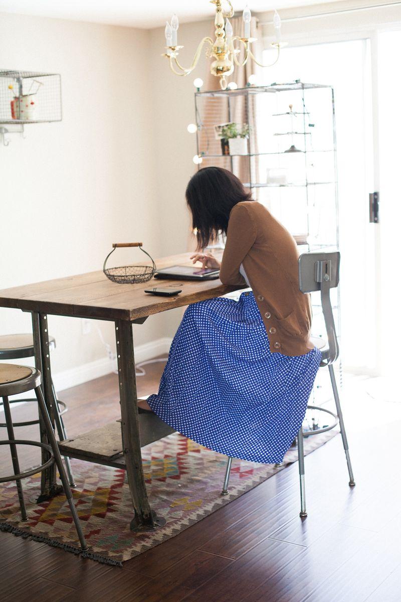 At Home With Danni Hong via A Beautiful Mess