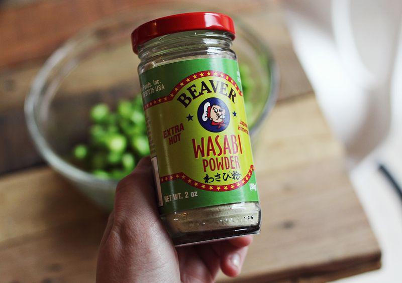 Favorite secret ingredient-wasabi powder
