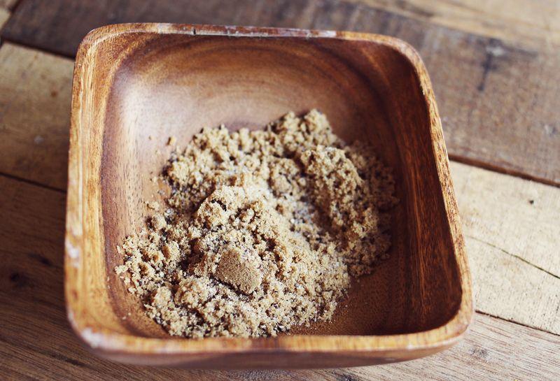 Brown sugar rub