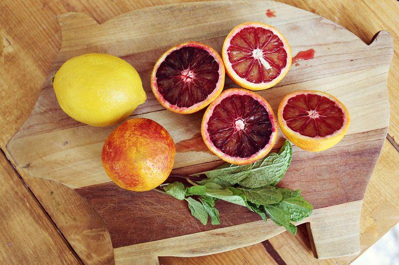 Blood Orange Lemon Fizz Recipe