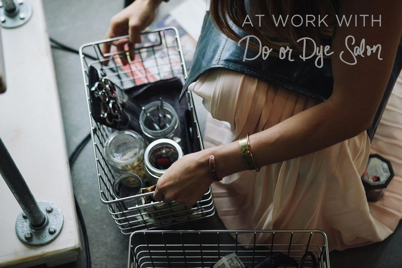 At Work With Do or Dye Texas