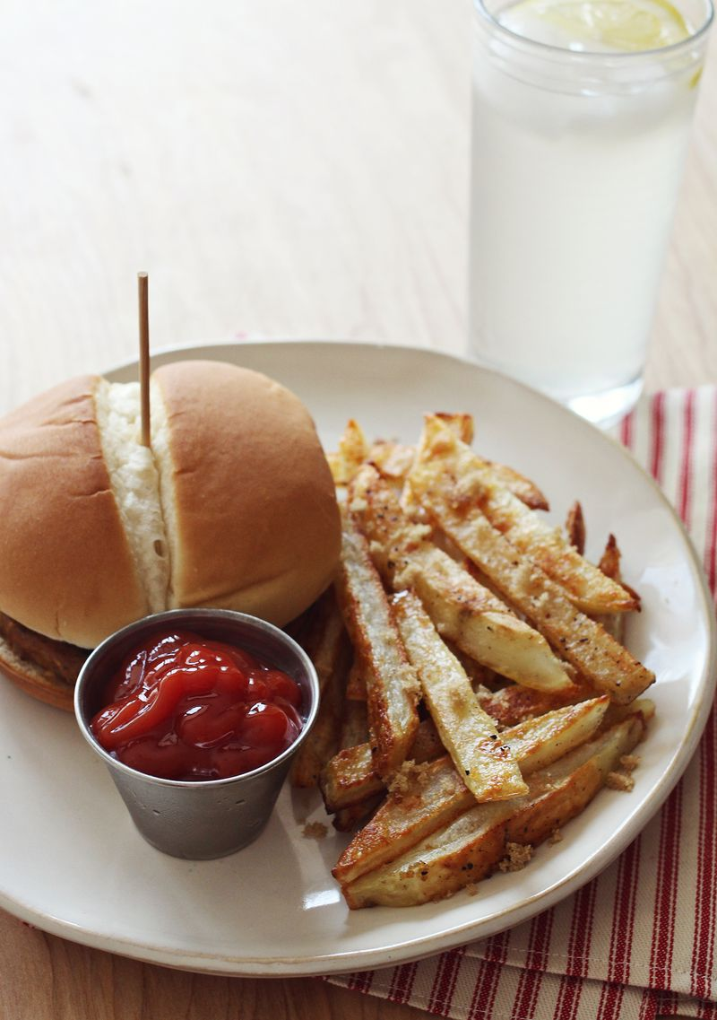 My favorite baked french fry method