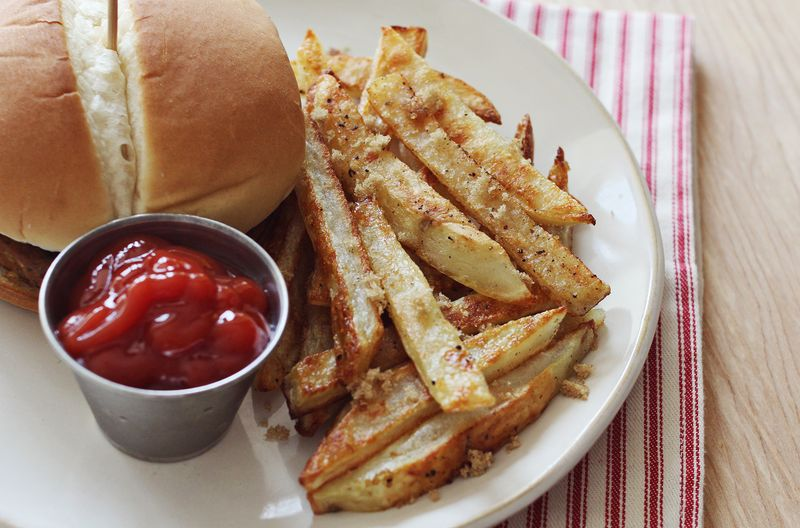 The best baked fries ever!