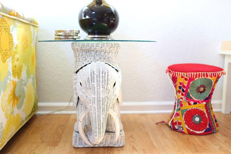 Love that elephant table