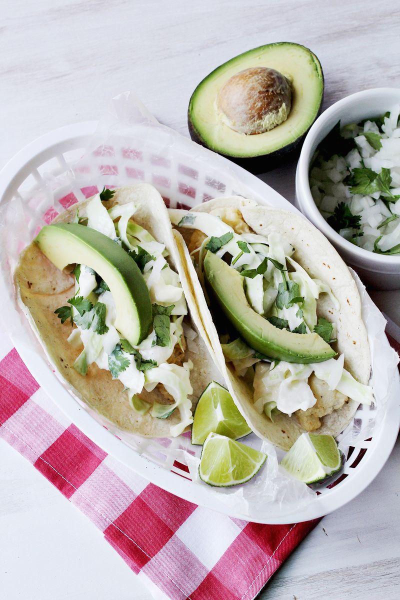 Super simple fish taco recipe