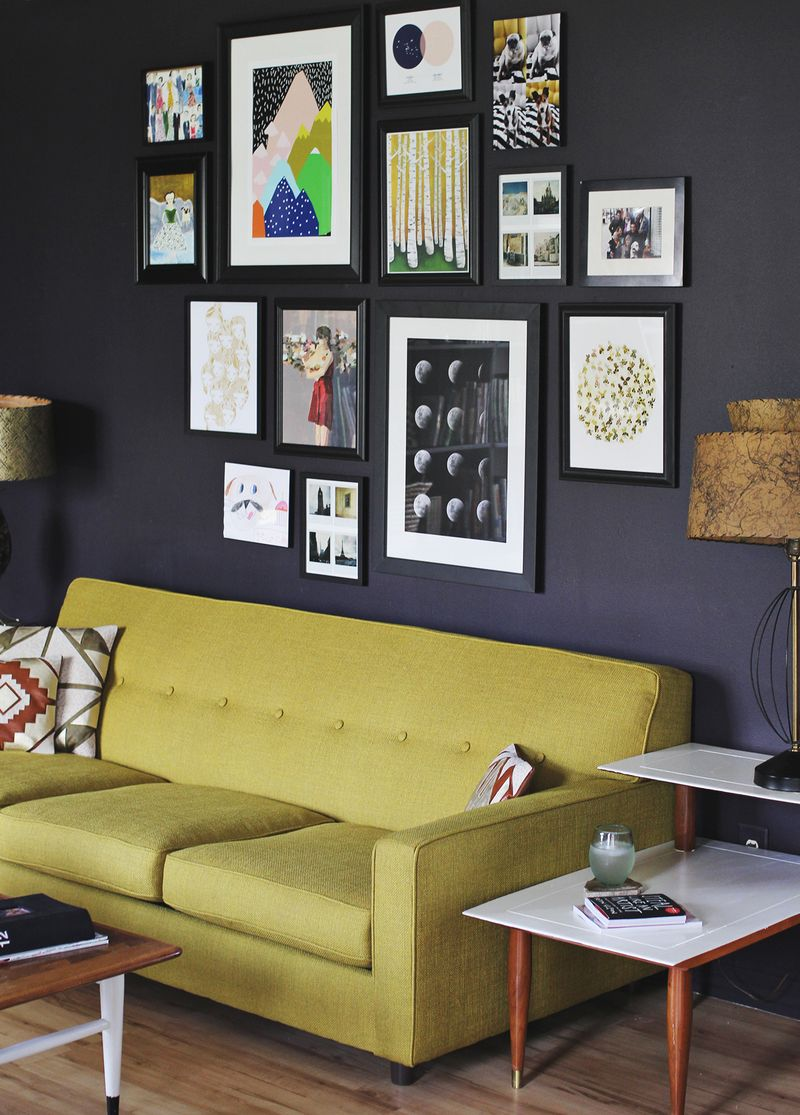 Tips for Installing a Gallery Wall - A Beautiful Mess