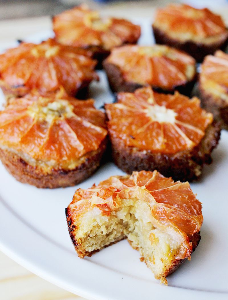 Grapefruit muffins