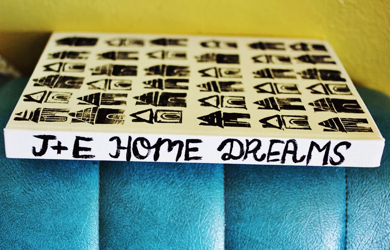 Home Dreams Journal Spine