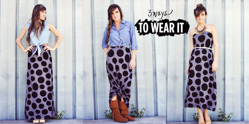 3 Ways To Wear It featuring The Spot Of Tea Skirt