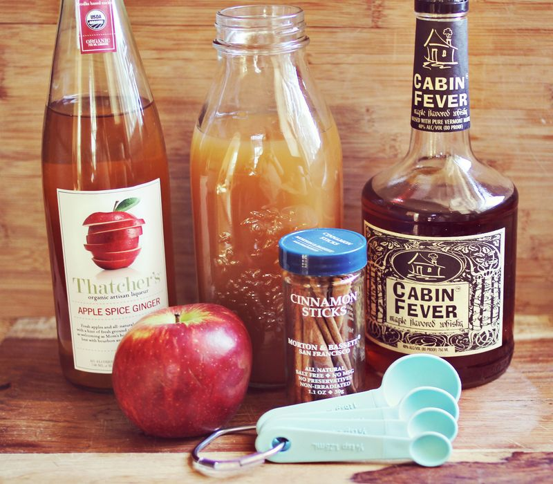 Elsie's Spiked Maple Apple Cider Recipe