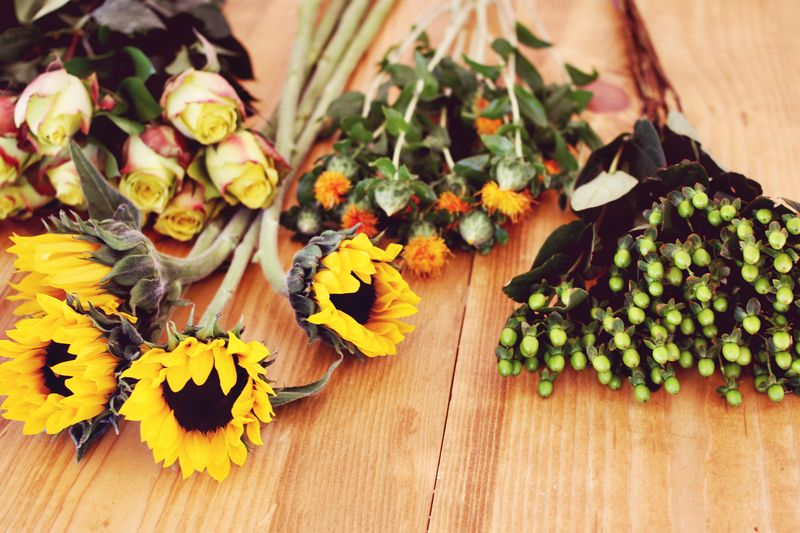 Tips For Autumn Floral Arrangements A Beautiful Mess