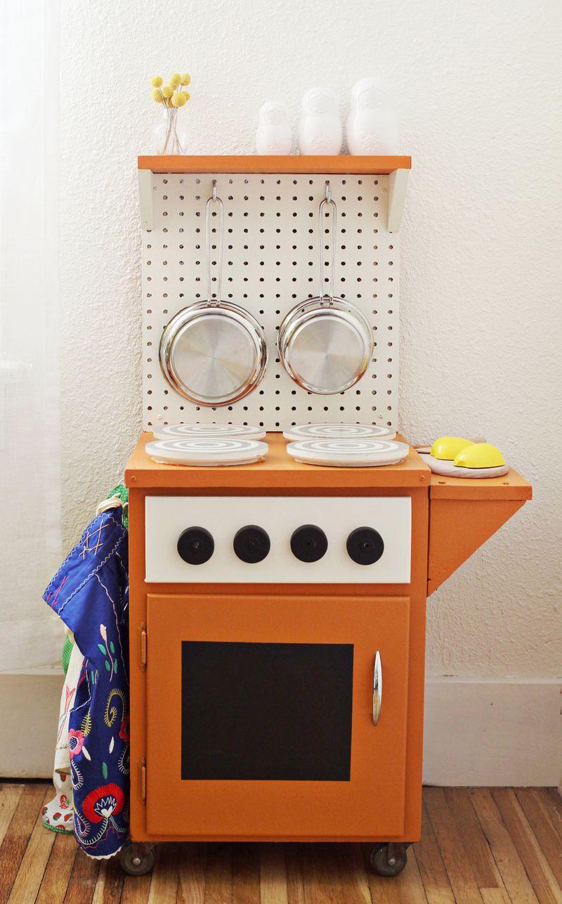 DIY Kitchenette via A Beautiful Mess