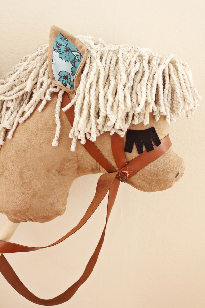 Gift Idea Diy Stick Horses A Beautiful Mess