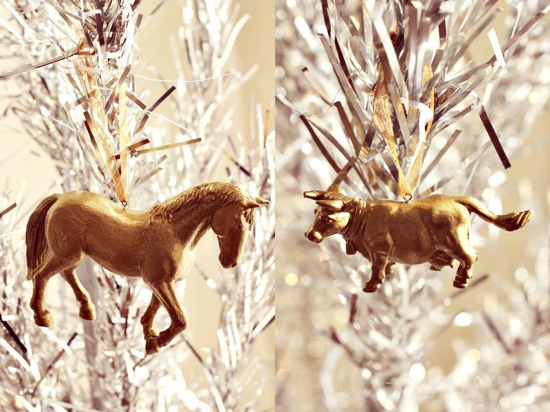 Gold Animal Ornament