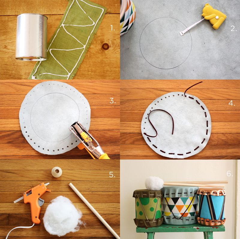 DIY Drum Steps