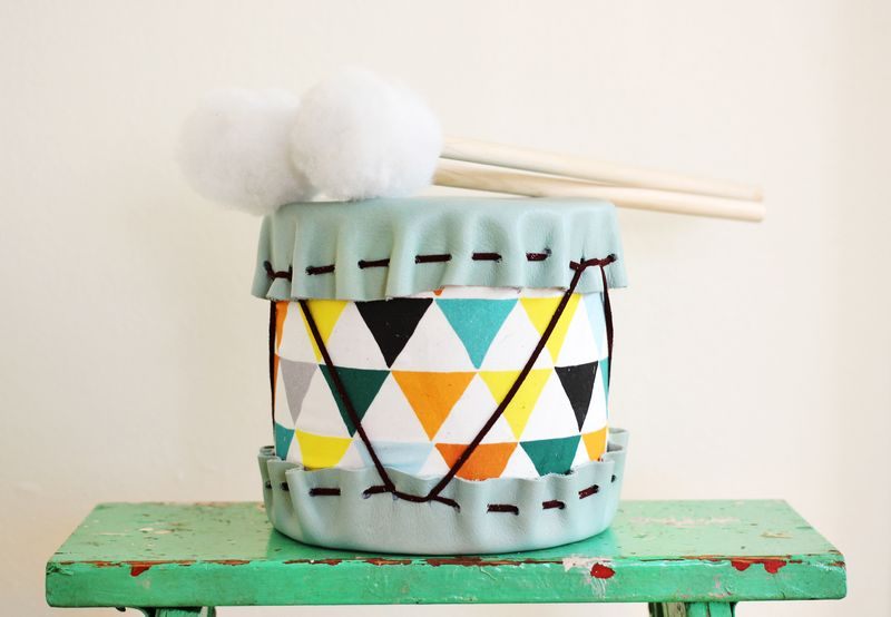 Darling handmade drum