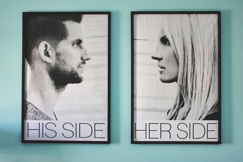 His Side + Her Side (via A Beautiful Mess
