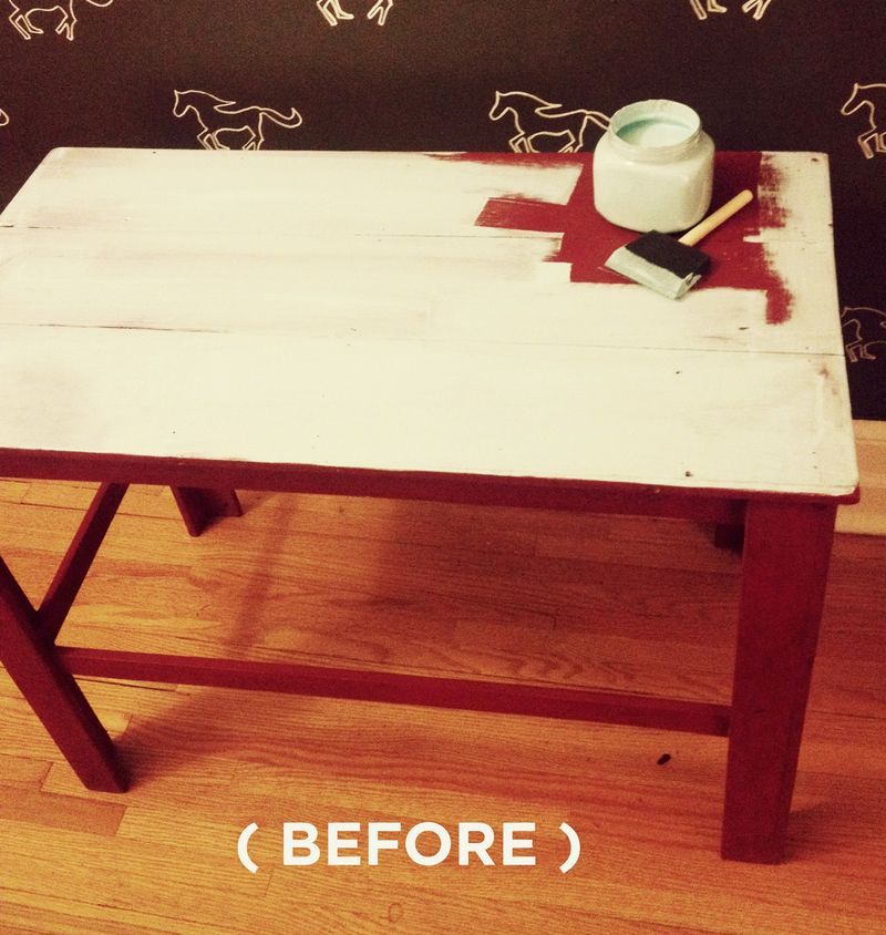 Side Table (BEFORE)