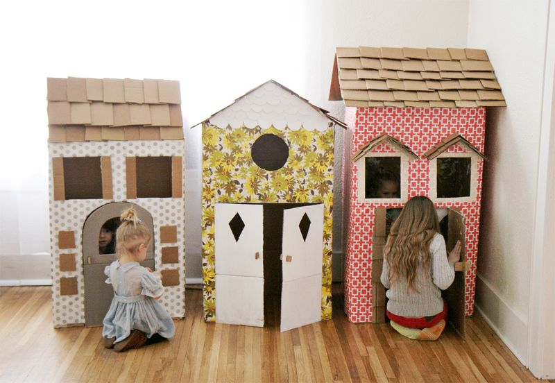 DIY Kid's Playhouses