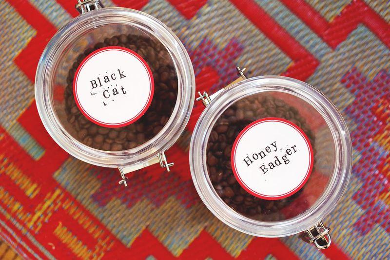 Espresso Bean Storage