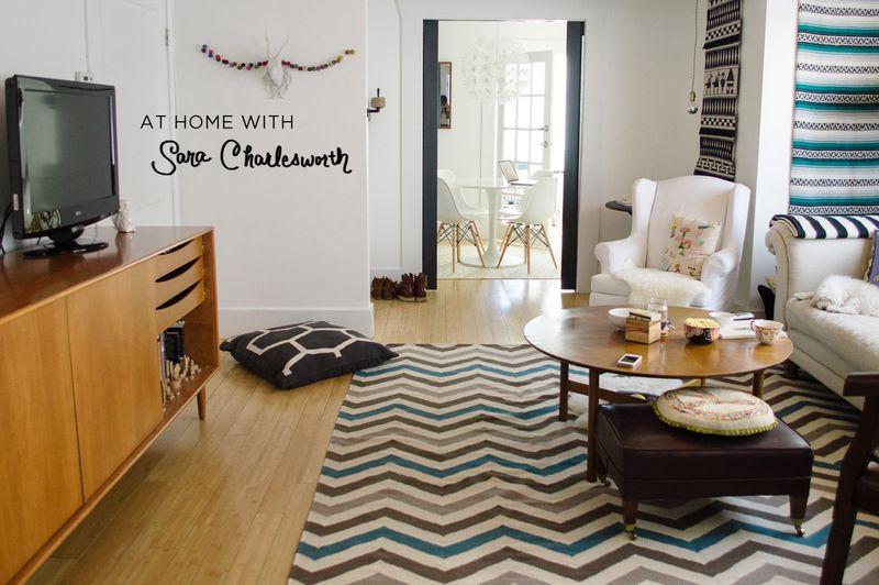 At Home With Sara Charlesworth
