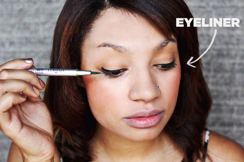 Aimee's eyeliner