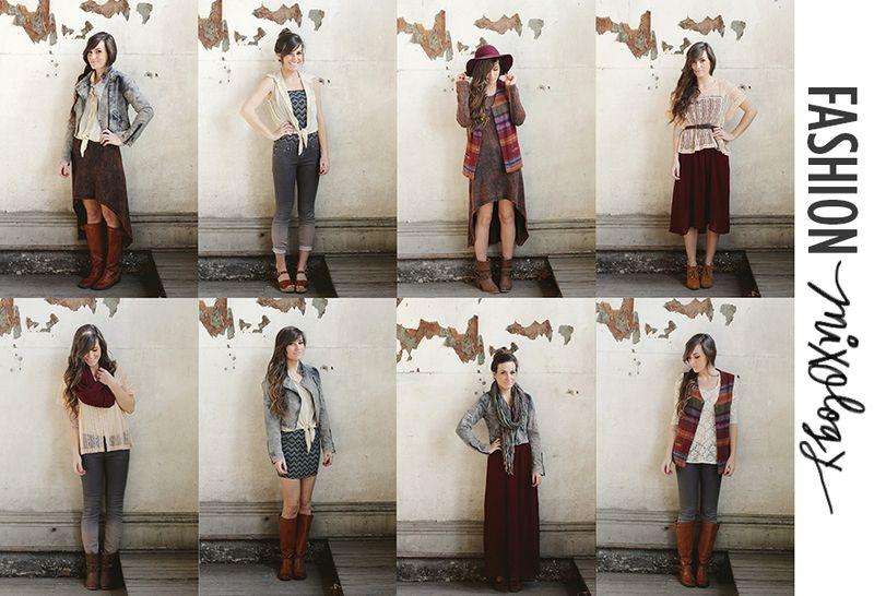Fashion mixology (A Beautiful Mess)