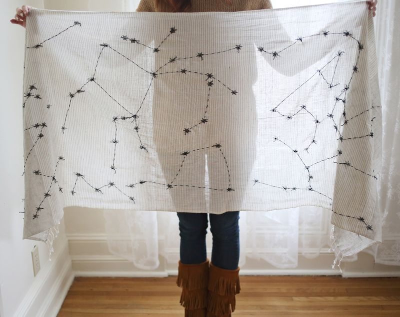 Constellations Scarf