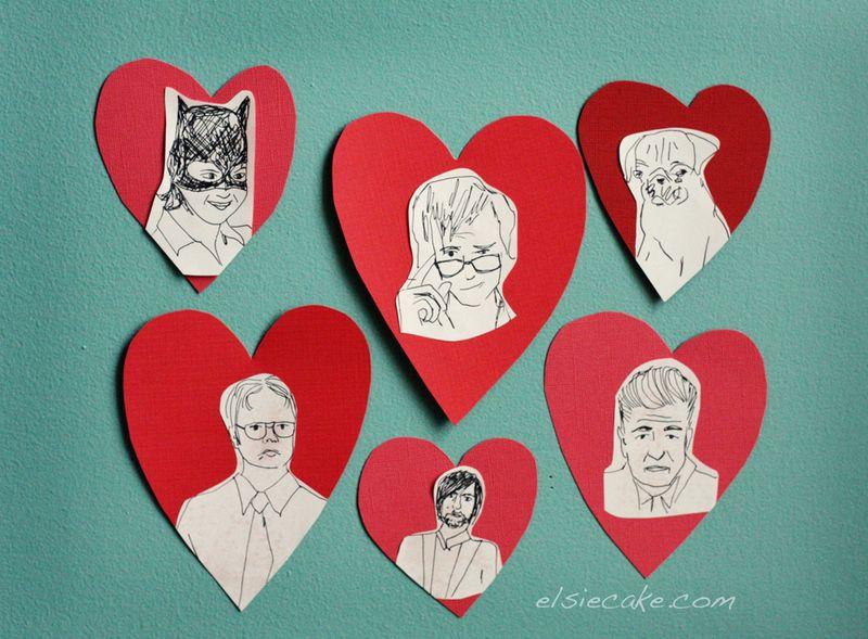 Celebrity Valentines