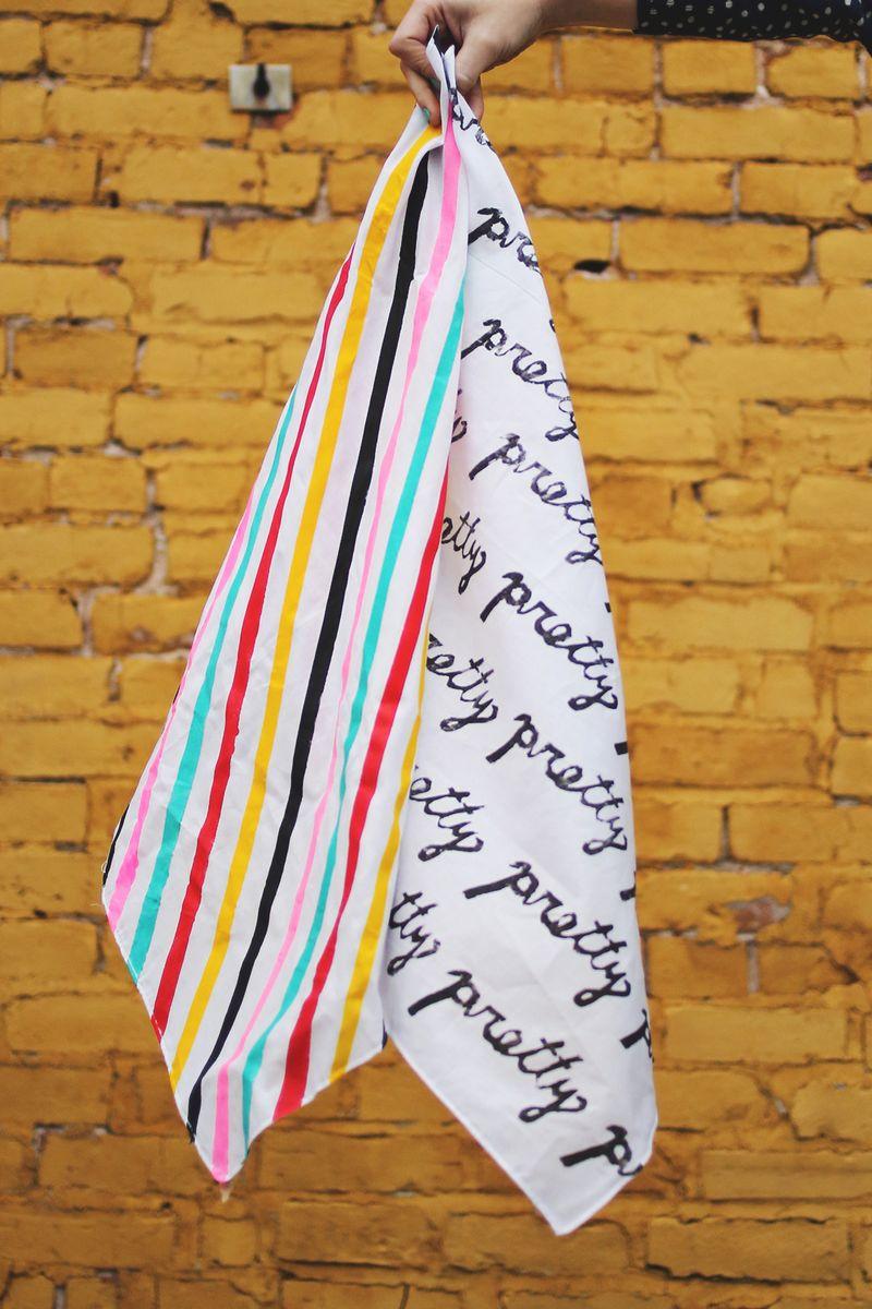 We made scarves!