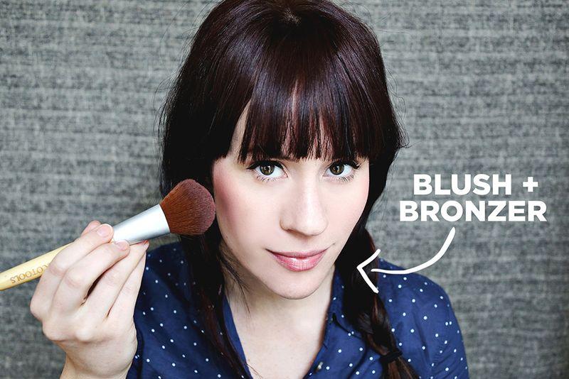 Blush + bronzer