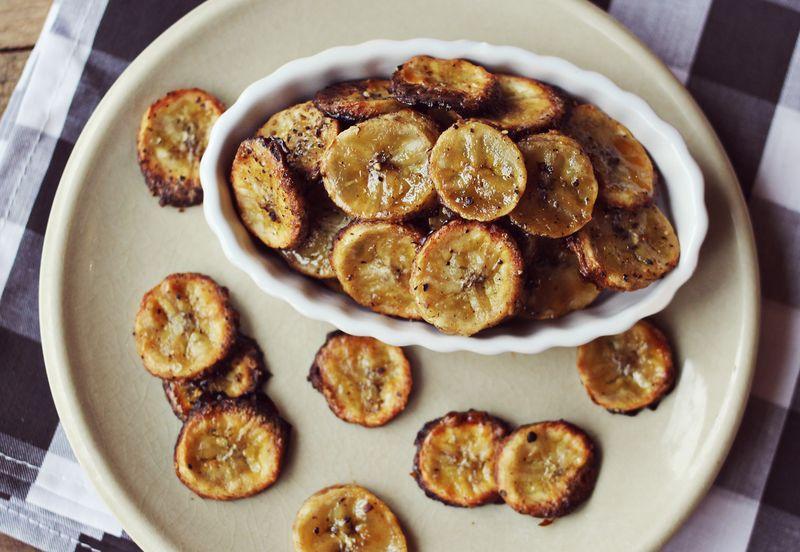 Healthy banana chip recipe