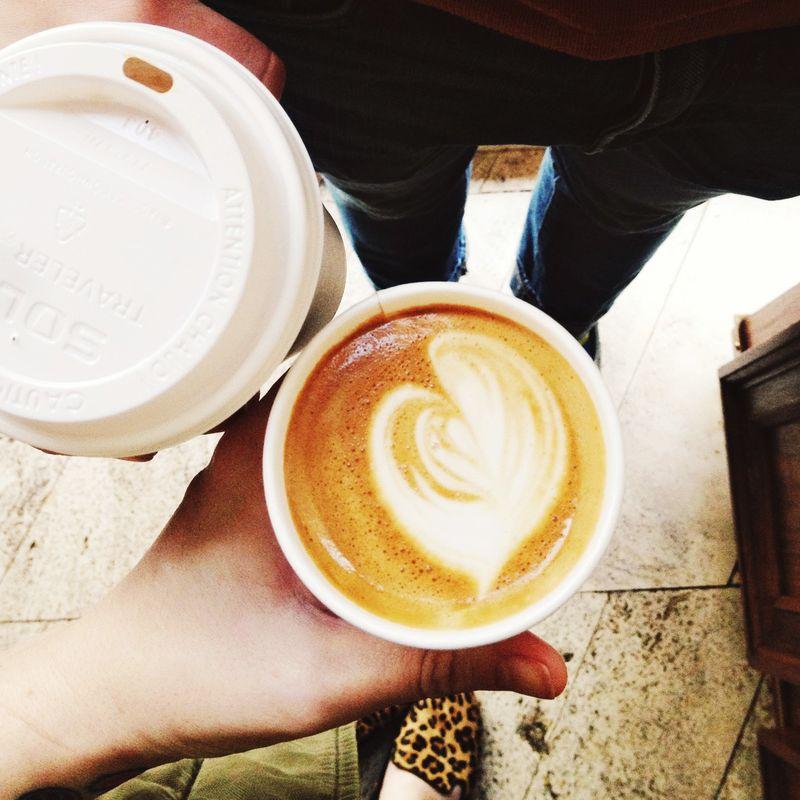 Coffee at Stumptown