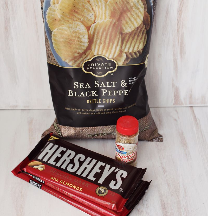 Awesome flavor combo-chocolate and potato chips